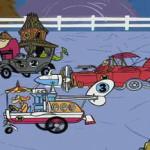 Racing Game Offers Classic Cartoon Antics