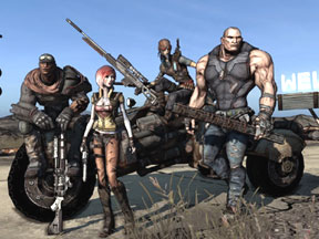 Borderlands Sits Between Shooter And RPG Action