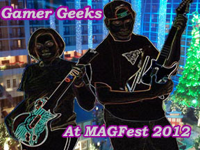 Gamer Geeks At MAGFest