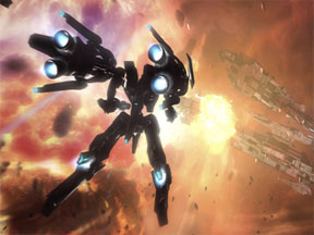 Strike Suit Zero: Gundam This Game is Hard