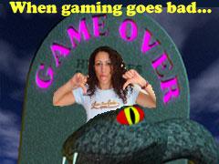 Chella Gets Mad (at games)