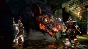 Rodents of unusual size? I don't think they exist. Just kidding in Dark Souls II, they can one hit kill you like everything else.