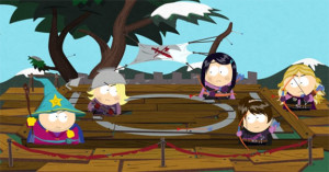 Look out, it's an all-girl gang. How will Cartman and the new kid get out of this one?