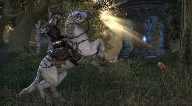 The Elder Scrolls Takes The RPG Party Online