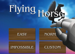 A difficulty setting on a Flappy game? Amazingly, it makes all the difference for Flying Horse.
