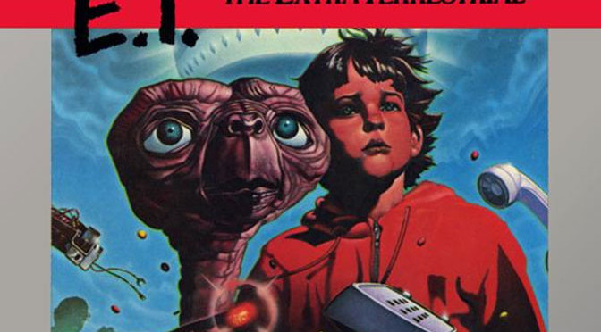 Todd relives his childhood by falling into pits with ET over and over again.