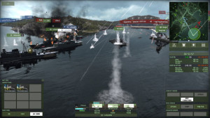 Although full Naval combat seems a little bit like an afterthought, it adds a strategic depth to the game that will have commanders thinking about attacks from every direction.