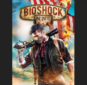 It's the designer stubble plus gun fail safe cover art