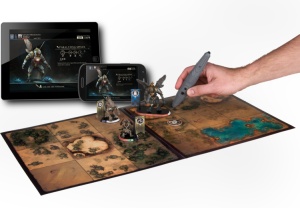 Golem Arcana uniquely combines tabletop gaming and mobile app