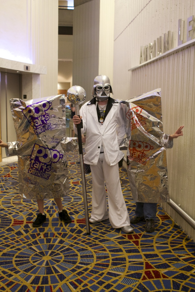 They told us they were Disco Vader and the PopTarts. We didn't ask anything else.