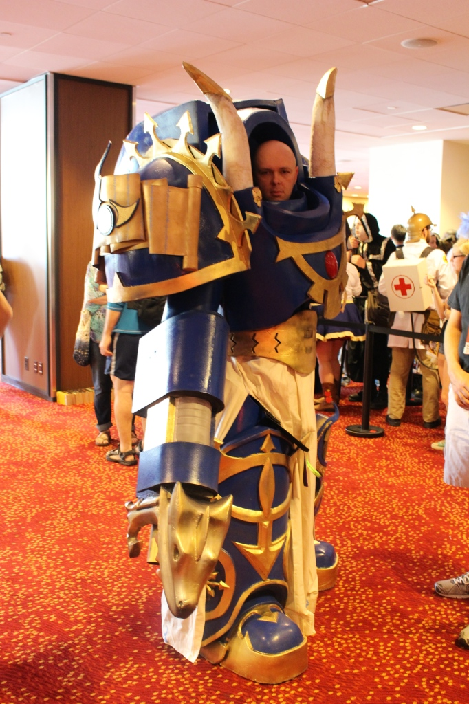 Space Marines always seem to conquer conventions.