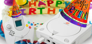 We love you Dreamcast! Make a wish and blow out the candles.