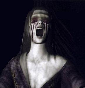 Fatal Frame blind woman
