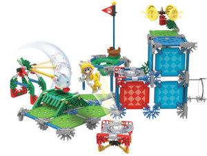 "Playing with this new Mario themed set from K'NEX is loads of fun. The ""evil"" mouse is just a nice bonus."