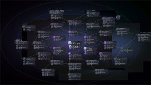 The tech web is both complicated, and much easier to manage than with previous games in the series.