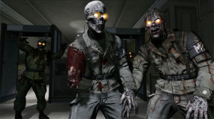 Zombies never advance... they will always want your brains!!!
