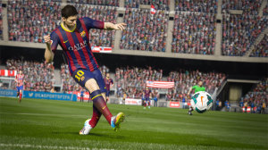 Although 15 adds some unnecessary features, players will still get a kick out of this year's FIFA.