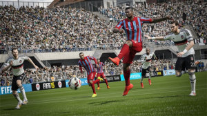 Visually, few can argue at how stunning FIFA 15 looks.