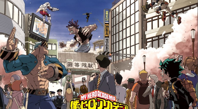 Manga Monday: Boku no Hero Academia by Horikoshi Kohei