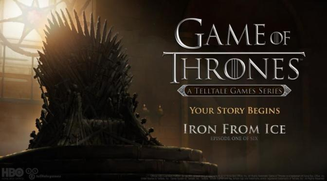 Telltale Releases Game of Thrones Launch Trailer