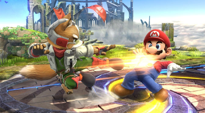 Okay, one battle. Winner becomes the official mascot for Nintendo for the next year. You in?