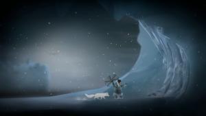Nuna uses an Alaskan native weapon to break ice