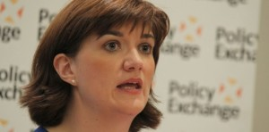 Nicky Morgan in favour of science subjects over the arts.
