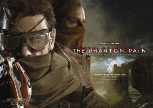 Metal Gear Solid The Phantom Pain art