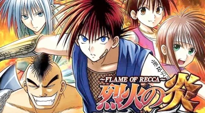 Manga Monday: Recca no Honoo by Nobuyuki Anzai