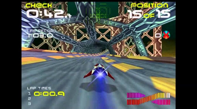 Retro Game Friday: Wipeout 64
