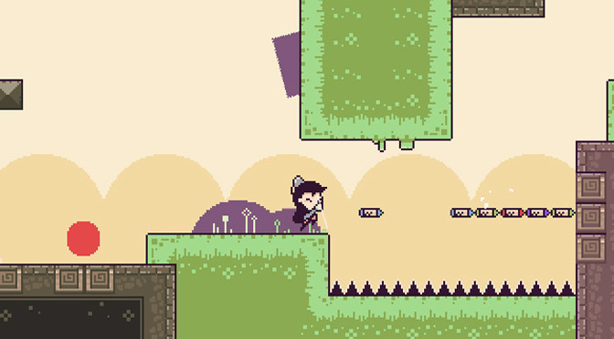 Puzzle Solving and Platforming in Crayon Poke