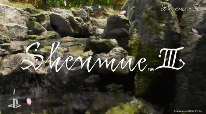 E3 2015: Sony reveals Shenmue III Kickstarter