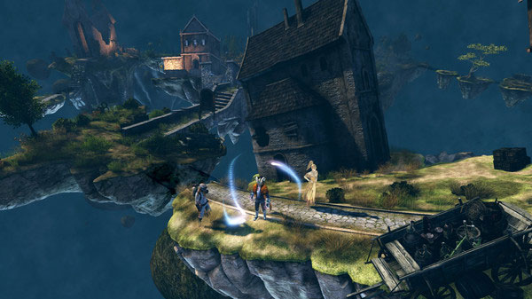 Van Helsing III offers some pretty bizarre and cool environments to explore.