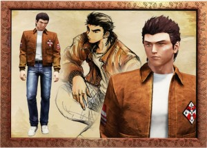 Ryo character art for Shenmue