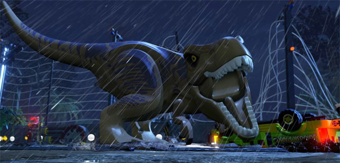 It's Tyrannosaurus-sized Action With LEGO Jurassic World