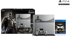 The new Batman-themed PlayStation 4 bundle, as recently purchased by GiN's own Chella Ramanan.