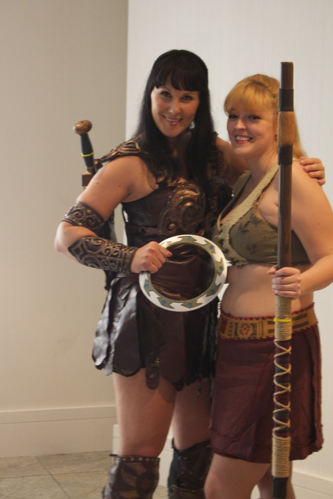 It's Xena and Gabrielle making the rounds again!
