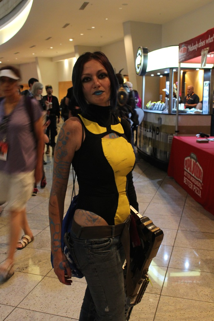 Our reporter loved this Siren from Borderlands 2 because its who she plays in that excellent game.
