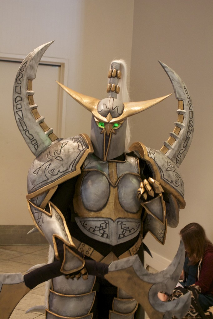 Wow. Meet Maiev Shadowsong from World of Warcraft.