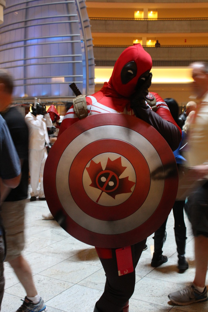 Captain Canada Deadpool--because why not?