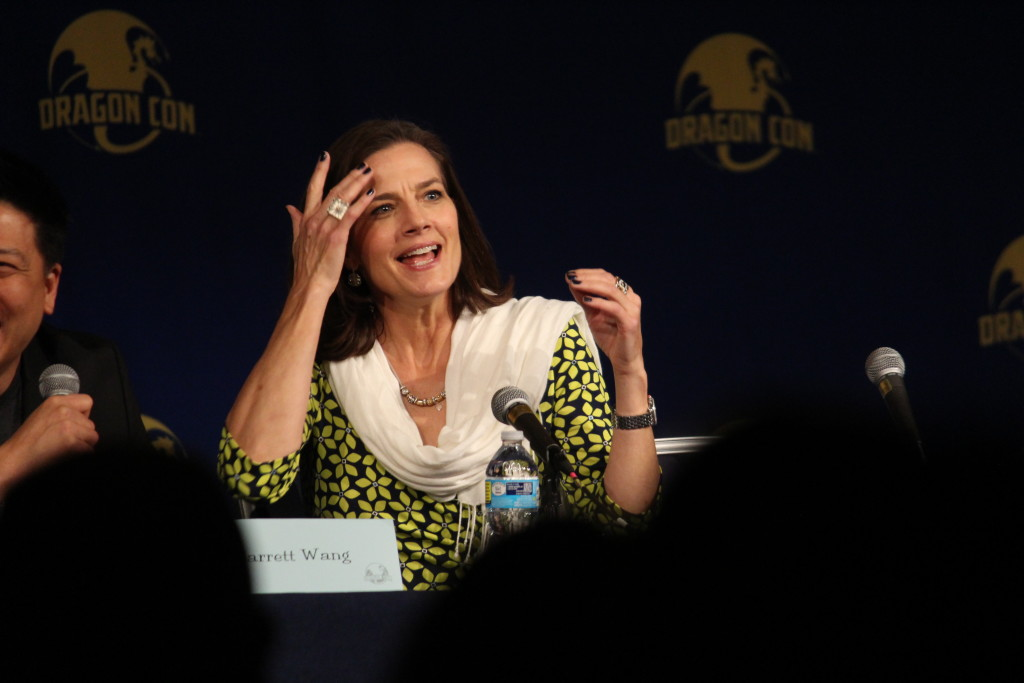 Terry Farrell; this was an amazing panel.