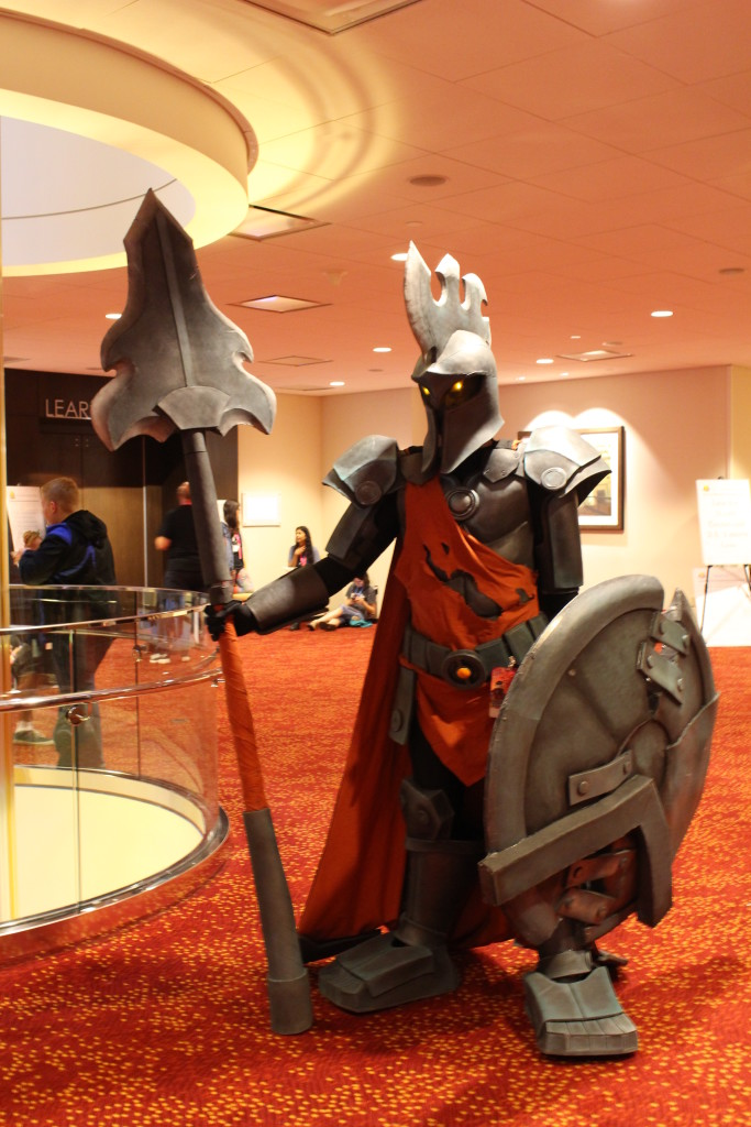 This League of Legends character was nearly seven feet tall!