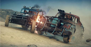 Bumping and grinding takes on a whole new meaning in Mad Max's world.