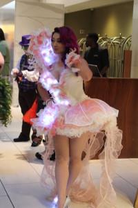 Professional cosplayer Yaya Han is always a big draw.