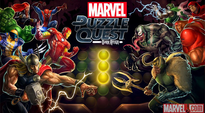Marvel Puzzle Quest: Dark Reign Now Available For Consoles