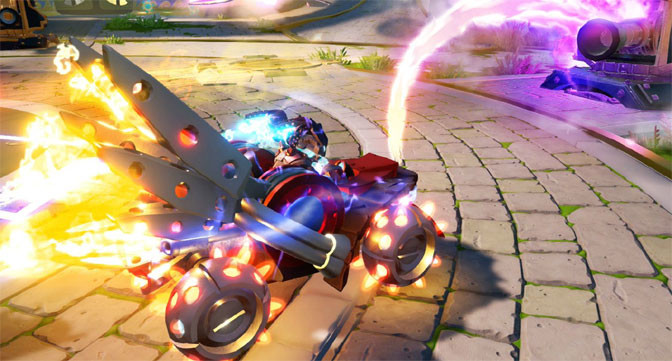 Revving up the action with Skylanders Superchargers