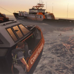 Choppy But Fun Seas In A Coast Guard Adventure