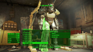 Power Armor, its operation as well as modding out a custom suit is now almost a separate game. It certainly adds a new element that is unique and fun to Fallout 4.