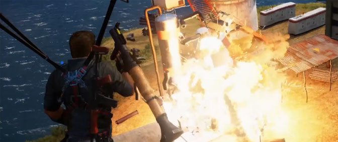 Final Just Cause 3 Developer Diary Shows Off Avalanche Engine