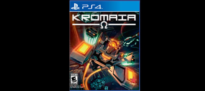 Kromaia Ω Ships For The PlayStation 4